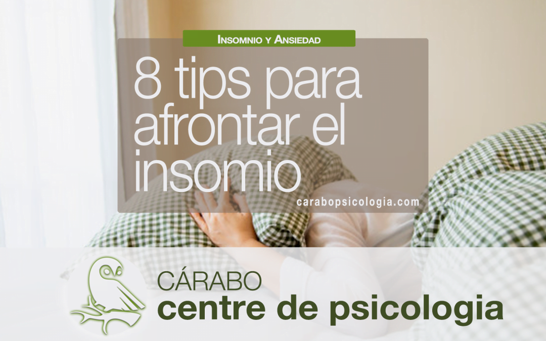 8 Tips para afrontar el insomnio