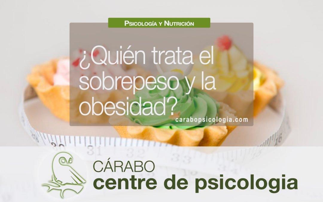 ¿Quién trata la obesidad?