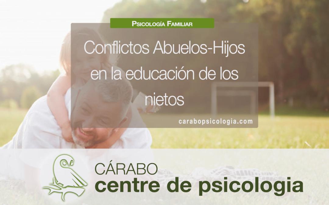 Conflictos abuelos-hijos en el cuidado de los nietos